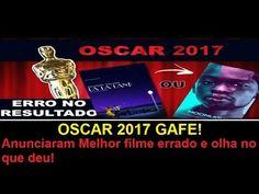 OSCAR 2017 GAFE! Anunciaram Melhor filme errado e olha no que deu!