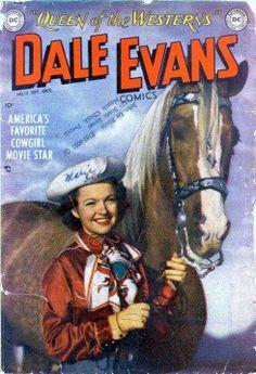 Dale Evans Comic Books - Western Comics Part 3 Free Comic Books, Comic Book Covers, Vintage Movies, Vintage Books, Vintage Magazines, Dale Evans, Western Comics, The Lone Ranger, Tv Westerns