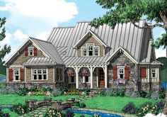 Appalachian Stream - Home Plans and House Plans by Frank Betz Associates