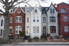 Victorian row houses