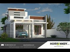 Searching for 13 Lakh 2 BHK 953 sq ft Imphal Villa floor plan ? then here is 13 Lakh 2 BHK 953 sq ft Imphal Villa house plan idea from t. Modern Exterior House Designs, New Home Designs, Exterior Design, Duplex House Design, Small House Design, Free House Plans, House Floor Plans, Family Dining Rooms, Living Room