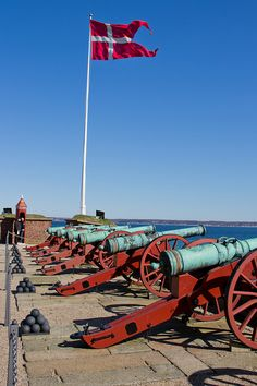Kronborg Defenses in Helsingør, Denmark, via Flickr. | #dinamarques