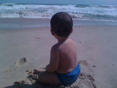 Na praia com as crianças - cuidados com os pequenos e respeito ao meio ambiente