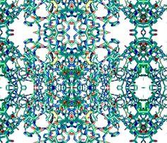 DNA fabric by bluevelvet on Spoonflower - custom fabric