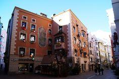 Innsbruck, Austria Innsbruck, Austria, Multi Story Building, Street View, Travel, Viajes, Destinations, Traveling, Trips