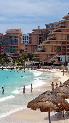 Playa Del Carmen, Cancun, Quintana Roo, Mexico, North America, Geography, Tropical Beach, Tourist,