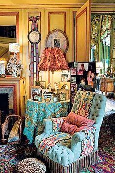 Kind of BoHo room.