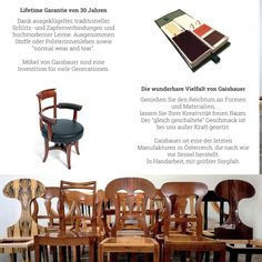 Gaisbauer's handmade chairs - an investment for generations.  #gaisbauerfurniture #generations #greatproducts #handcrafted #handarbeit #handwerk #interiordesignlovers #interiordesigns #interiordesignerlife #innenarchitektur #interiordesign #furnituredesign #feineshandwerk #furnituremaker #furnituredesigner #chair #biedermeierfurniture #biedermeiermöbel #madeinaustria #manufacture #madewithlove❤️ #manufaktur #sessel #vienna #linz #fabric Luxury Furniture, Furniture Design, Maker, Interiordesign, Wishbone Chair, Furniture Collection, Designer, Dining Chairs, Handmade