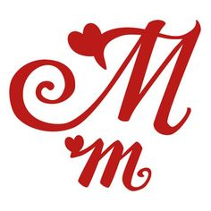 Lettering Fonts Discover Silhouette Design Store: M Romantic Monogram This romantic monogram is perfect for all things love inspired; weddings & engagements showers & save the dates Valentines Day & the prom! Caligraphy Alphabet, Monogram Alphabet, Fancy Letters, Letters And Numbers, Abc Font, Valentines Day Drawing, Embroidery Fonts, Silhouette Design, Lettering Design