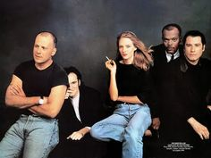 Great movie, great cast! #PulpFiction