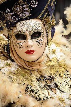 Venice - Carnival Mask                                                                                                                                                                                 Mais