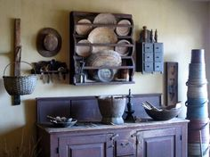 primitive home decorating 18 ideas