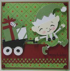 cricut jolly holidays!  I sooooo wish I had this cart!!!!
