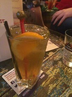 Johnnie Walker Apple Cooler cocktail, Cask & Still, Leith Walk