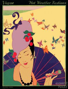 Art Deco Fashion Drawings by Helen Dryden American Artist...Vogue 1913