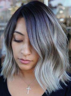 Modern Hairstyles, Girl Hairstyles, Cool Hair Color, Hair Colors, Brunette Color, Hair Color Balayage, Color Trends, Hair Beauty, Popular Hair