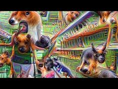 Deep dreaming at the grocery store.