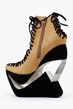 Zamn Platform Wedge by Nasty Gal
