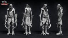 ArtStation - The Witcher III - Spriggan, Marcin Blaszczak Witcher Armor, The Witcher 3, 3d Character, Character Design, Witcher Monsters, Video Game Artist, Ice Giant, Vampire Fangs, Wild Hunt
