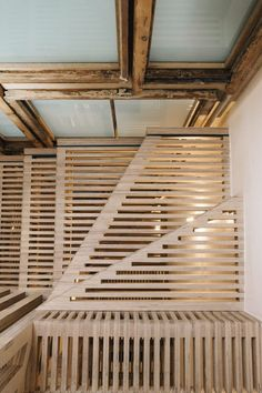 Tsurata Architects designs staircase in London house What does it signify that I wildly dislike open staircases but I madly love this?