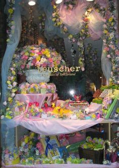 World Travel Photos :: Shop-Windows  :: New York City. Shop Window decorated for Easter