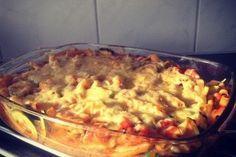 Een gezond en lekker recept voor een romige pasta ovenschotel.