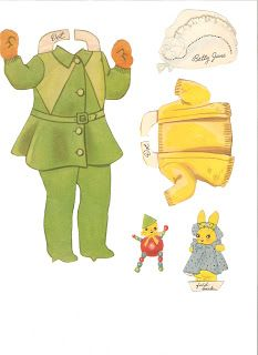 Miss Missy Paper Dolls: Our New Baby Name: Our New Baby Date:1937 Publisher:Merrill Artist:Florence Salter