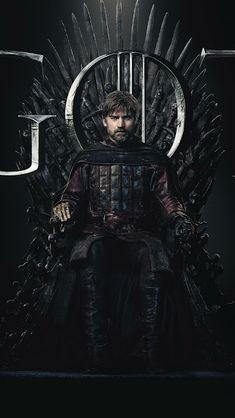 Jaime Lannister, Game of Thrones, Season Sitting on Thrown Final Season April 2019 Game Of Thrones Movie, Game Of Thrones Poster, Watch Game Of Thrones, Game Of Thrones Quotes, Vikings, Movie Co, 2011 Movies, Nikolaj Coster Waldau, Free Tv Shows