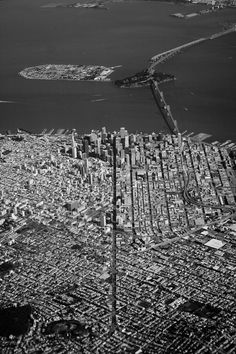 San Francisco, California from above. #SFC #California #SanFrancisco