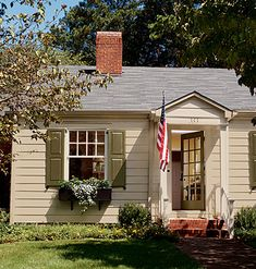 Love the colors - The exterior paint is Sherwin Williams Dewy 6469 ...