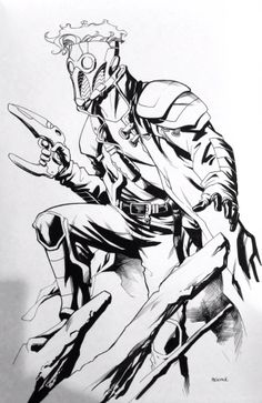 Peter Quill - Star-Lord by Mike McKone *
