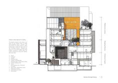 Image 18 of 18 from gallery of Ping Shan Tin Shui Wai Leisure and Cultural Building / ArchSD. Section Diagram