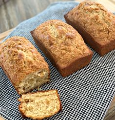 Brown Sugar Quick Bread - The Cookin Chicks This Brown Sugar Quick Bread is quick to prepare and the perfect morning treat! Using only 7 ingredients, this comes together in no time! Quick Bread Recipes, Cooking Recipes, Muffins, Sugar Bread, Perfect Breakfast, Breakfast Ideas, Breakfast Dishes, Breakfast Time, Dessert Bread