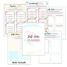 Self-Care Binder Journal {29 Pages}