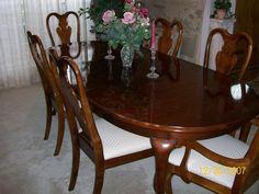 My dining room set - Pennsylvania House Hallmark solid cherry dining ...