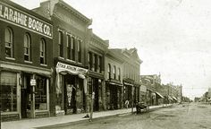 Laramie Historic Photos II | East side Second Street looking south, 1907.