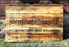 Image result for boutique timber sign