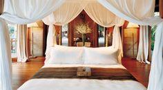 No final do dia, o espaço dedicado ao descanso pede texturas suaves e tons que transmitam sensações de calma.