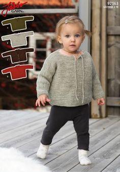 92163 RÄTSTICKADE BABYPLAGG Knitting For Kids, Baby Knitting Patterns, Stick O, Baby Barn, 2 Ply, Drops Design, Baby Sweaters, Ravelry, Knit Crochet