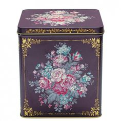 GreenGate Tin Boxes Square Evelyn Set Of 3 Pieces | Autumn/Winter 2013 | Originated-Webshop