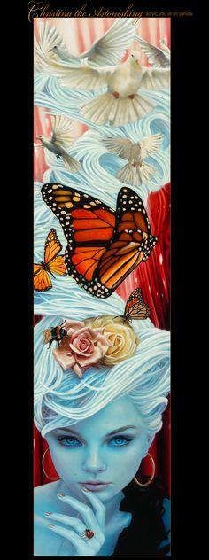 Christina the Astonishing by Lynden Saint Victor