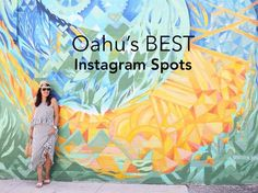 oahu's best instagram spots, best places to take photos in oahu hawaii, photo locations for oahu, instagramable, vacation spots, things to do in oahu hawaii
