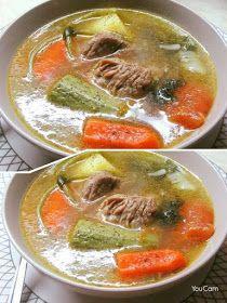 ΜΑΓΕΙΡΙΚΗ ΚΑΙ ΣΥΝΤΑΓΕΣ 2: Σούπα ζωμός από κρέας και λαχανικά !!! Snack Recipes, Healthy Recipes, Snacks, Salty Foods, Fun Cooking, Greek Recipes, Thai Red Curry, Good Food, Brunch