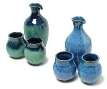 Sake Set with 2 Cups