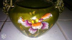 De Bruyn Fives Lille Cache pot autre version aux orchidées n° 646 Existe en version unie framboise