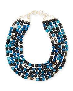 Akola Five-Strand Bracelet Necklace wPLVXXN5a