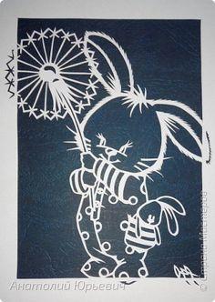 """- Всем добрый день! Вашему вниманию новая открытка которая порадует не только детей, но и взрослых.  - Эскиз был выполнен, изменён и доработан под """"вырезалку"""" по работе детского художника-иллюстратора Марины Федотовой.   - Размер 12х16см. фото 4"""
