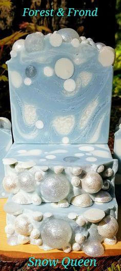 Snow Queen artisan handmade soap Forest & Frond