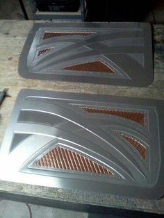 Bomber Style Riveted Metal Door Panel Auto Interiors Pinterest Metals Bombers And Doors