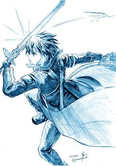 Get your favorite Sword art online characters here in Rykamall. We've prepared products of many kinds to satisfy your cravings for these special characters. Kirito Drawing, Manga Drawing, Kirito Sword, Kirito Asuna, Online Anime, Online Art, Eugeo Sword Art Online, Sword Art Online Drawing, Sword Art Online Wallpaper